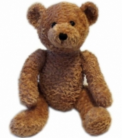 Design-a-Bear Honey - Personalized Teddy Bear with Knitted Top