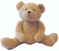 Design-a-Bear Cappuccino - Personalized Teddy Bear with Knitted Top