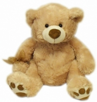 Top PAWS Teddy Bear - Bisque - Large 21 inch Teddy Bear with Hoodie