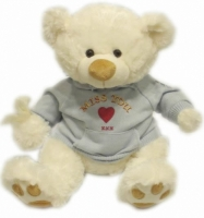 Top PAWS Teddy Bear - Snowflake - Large 21 inch Teddy Bear with Hoodie