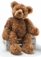 "Gund ""Bogey"" Teddy Bear (Retired Collectable) With Personalized Hoodie"