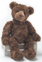 "Gund ""Mink Bogey"" Teddy Bear (Retired Collectable) With Personalized Hoodie"